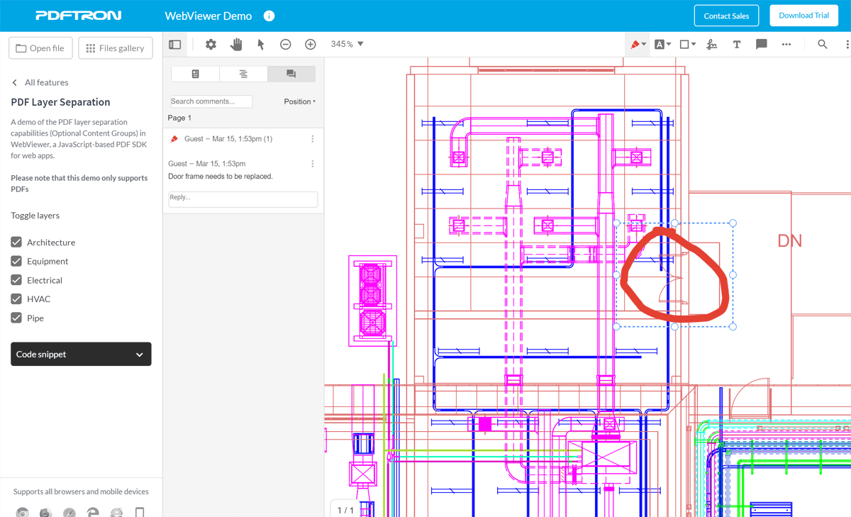 Introducing PDFTron SDK for Architecture, Engineering, and